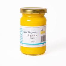 Resim Hisar Ebru Boyası 201 Pigment Sarı 105 Cc