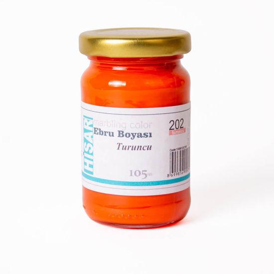 Hisar Ebru Boyası 202 Turuncu 105 Cc. ürün görseli