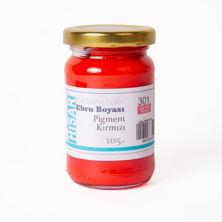 Resim Hisar Ebru Boyası 301 Pigment Kırmızı 105 Cc
