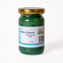 Resim Hisar Ebru Boyası 503 Yaprak Yeşili 105 Cc.