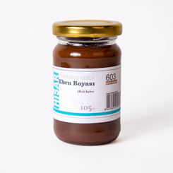 Resim Hisar Ebru Boyası 603 Oksit Kahve 105 Cc