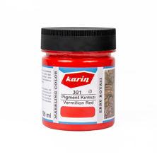Resim Karin Ebru Boyası 105 ml 301 Pigment Kırmızı