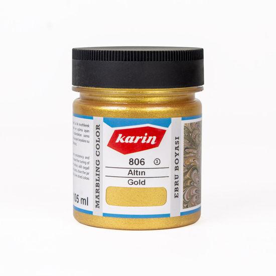 Karin Ebru Boyası 105 ml 806 Altın. ürün görseli