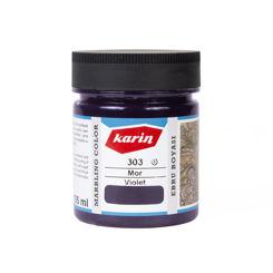 Resim Karin Ebru Boyası 303 Mor 105 ml