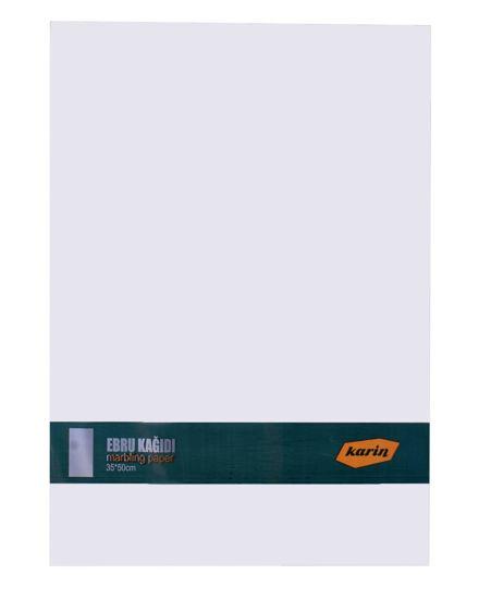 Karin Ebru Kağıdı Beyaz (35X50Cm) 90 Gr. 100 Ad.. ürün görseli