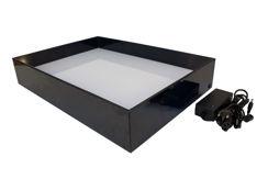 Resim Karin Pleksi Glas Ebru Seminer Gösteri Teknesi 35X50 Cm