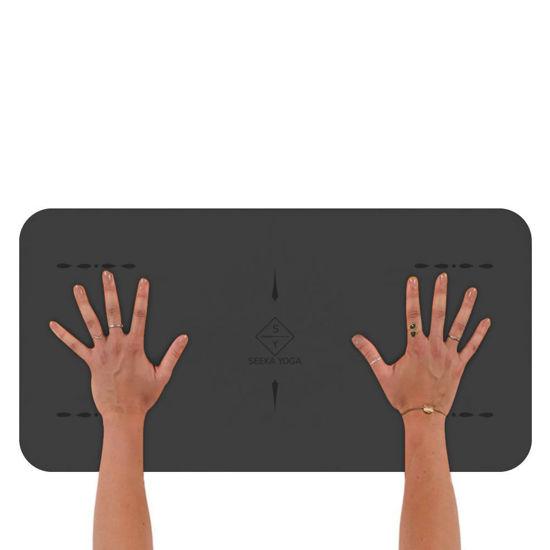 Seeka Yoga Hand & Knee Mat - Gri. ürün görseli