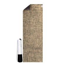 Resim Seeka Yoga Jüt Yüzeyli Yoga Matı - Kahve
