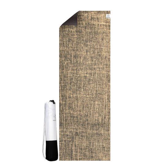 Seeka Yoga Jüt Yüzeyli Yoga Matı - Kahve. ürün görseli