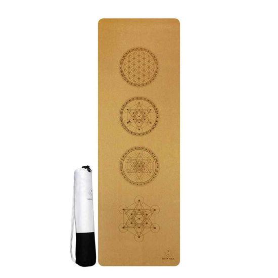 Seeka Yoga Mantar Yüzeyli Doğal Kauçuk Yoga Matı - Mandala. ürün görseli