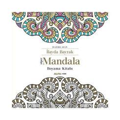 Resim Süper Mandala Boyama Kitabı - Kolektif
