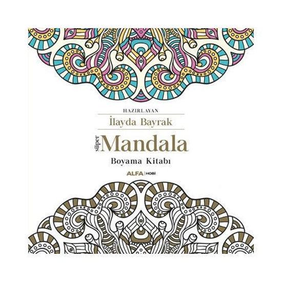 Süper Mandala Boyama Kitabı - Kolektif. ürün görseli