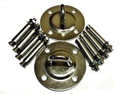 Resim Yogatime AeroYoga Hamağı Montaj Aparat Seti (2 Kanca+8 Çelik Dübel) - Gümüş