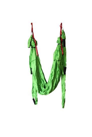 Yogatime AeroYoga Kulplu Hamak (Montaj Aparat Seti Hariç) - Fıstık Yeşil. ürün görseli