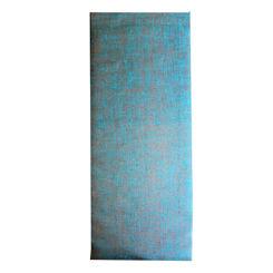 Resim Yogatime Jute Yoga Mat 5 mm. - Turkuaz
