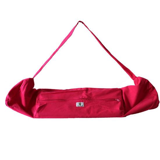 Yogatime Mat Çantası Düz - Fuşya. ürün görseli