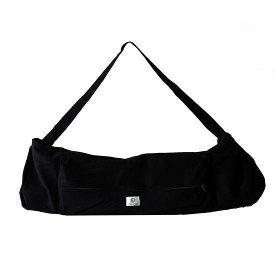 Yogatime Mat Çantası Düz - Siyah. ürün görseli