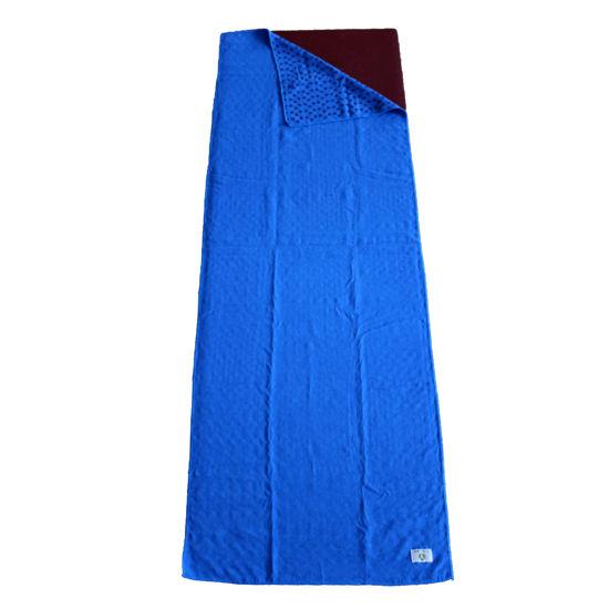 Yogatime Mat Havlusu Klasik - Koyu Mavi. ürün görseli