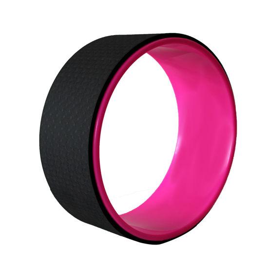 Yogatime Yoga Wheel - Fuşya / Siyah. ürün görseli