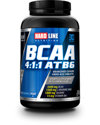 Resim Hardline BCAA 4:1:1 Atb6 120 Tablet