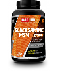 Resim Hardline Glucosamine Msm 120 Tablet