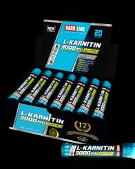 Resim Hardline L-Karnitin Matrix 3000 Mg 20 Adet - Limon