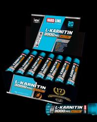 Resim Hardline L-Karnitin Matrix 3000 Mg 20 Adet - Şeftali