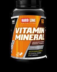 Resim Hardline Vitamin Mineral 120 Tablet