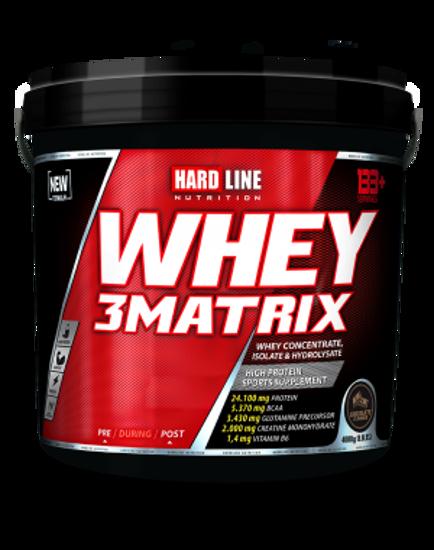 Hardline Whey 3 Matrix 4000 Gr - Çikolata. ürün görseli