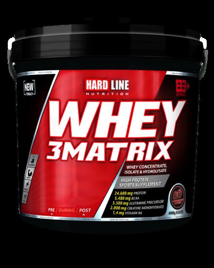 Hardline Whey 3 Matrix 4000 Gr - Çilek. ürün görseli