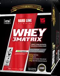 Resim Hardline Whey 3 Matrix 450 Gr (30Gr*15Adet) - Muz