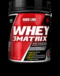 Resim Hardline Whey 3 Matrix 454 Gr - Çilek