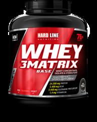 Resim Hardline Whey 3 Matrix Base 2300 Gr - Çikolata