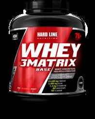 Resim Hardline Whey 3 Matrix Base 2300 Gr - Sade