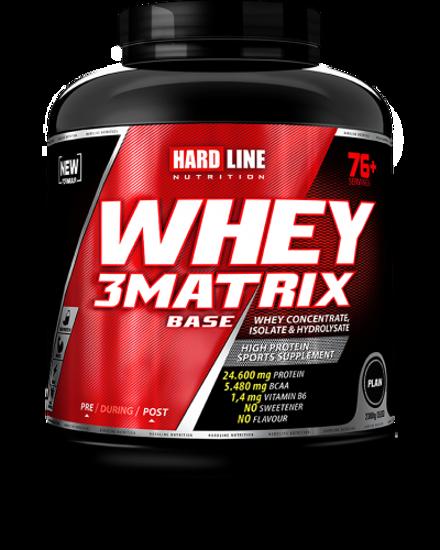Hardline Whey 3 Matrix Base 2300 Gr - Sade. ürün görseli