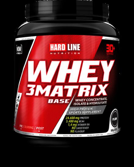 Hardline Whey 3 Matrix Base 908 Gr - Sade. ürün görseli