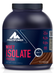 Resim Multipower %100 Pure Whey Isolate 2000 gr Protein Tozu