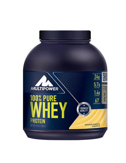 Multipower %100 Pure Whey Protein 2000 Gr - Muz-Mango. ürün görseli