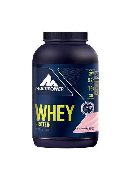 Multipower %100 Pure Whey Protein 900 Gr - Çilek. ürün görseli