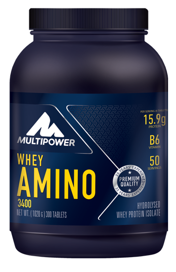 Multipower Whey Amino 3400 300 Tablet. ürün görseli