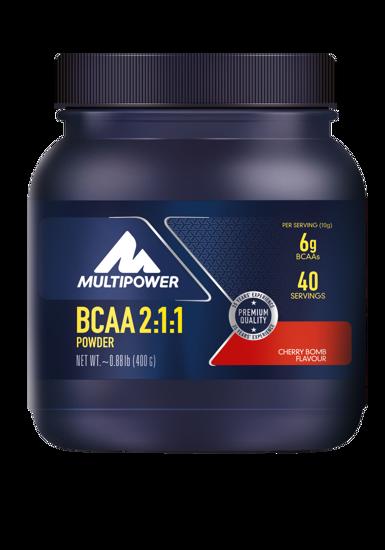 Multipower BCAA 2:1:1 Powder 400gr - Kiraz. ürün görseli