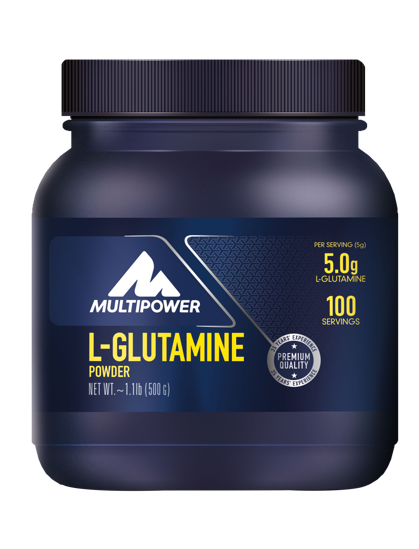 Multipower L-Glutamine Powder 500gr. ürün görseli