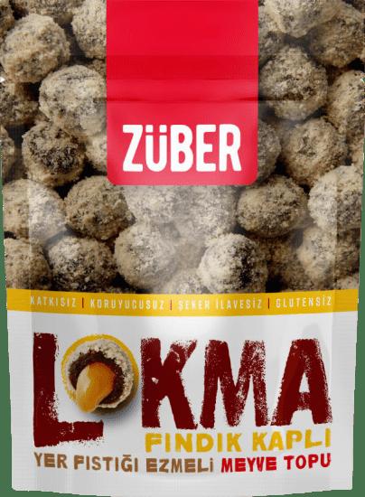 Züber Lokma Fındık Kaplı Meyve Topu 96 Gr.. ürün görseli