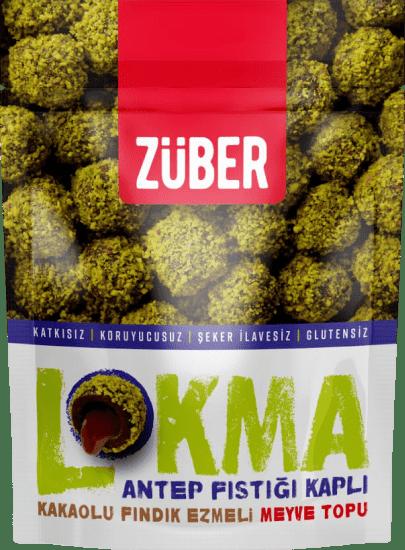 Züber Lokma Antep Fıstığı Kaplı Meyve Topu 96 Gr.. ürün görseli