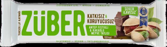 Züber Antep Fıstıklı Kakaolu Meyve Bar 40 Gr.. ürün görseli