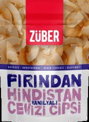 Resim Züber Fırından Vanilyalı Hindistan Cevizi Cipsi 40 Gr.