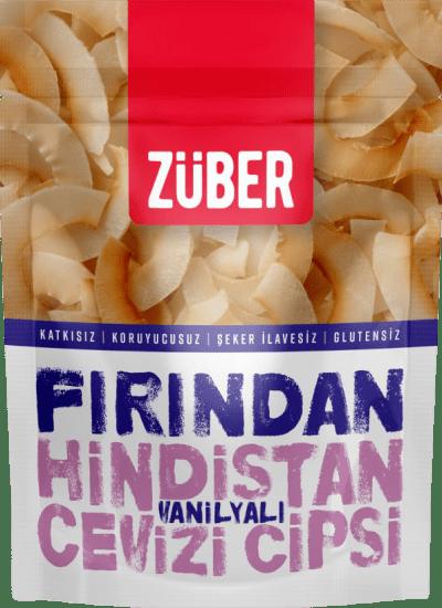 Züber Fırından Vanilyalı Hindistan Cevizi Cipsi 40 Gr.. ürün görseli