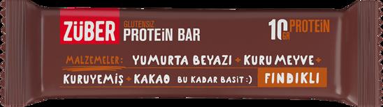 Züber Glutensiz Protein Barı Fındıklı 35 Gr.. ürün görseli