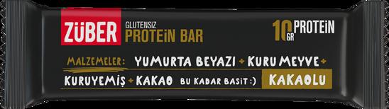 Züber Glutensiz Protein Barı Kakaolu 35 Gr.. ürün görseli