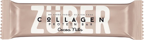 Züber Kakao Çekirdekli Kolajen Proteinli Bar 35G. ürün görseli